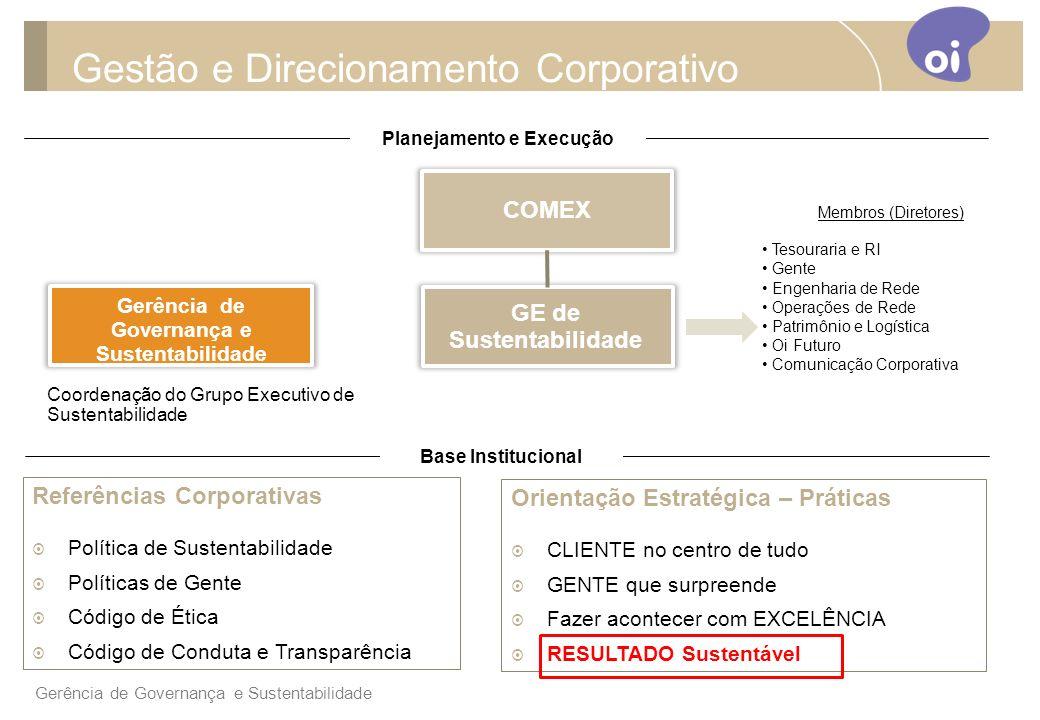 Gestão e Direcionamento Corporativo