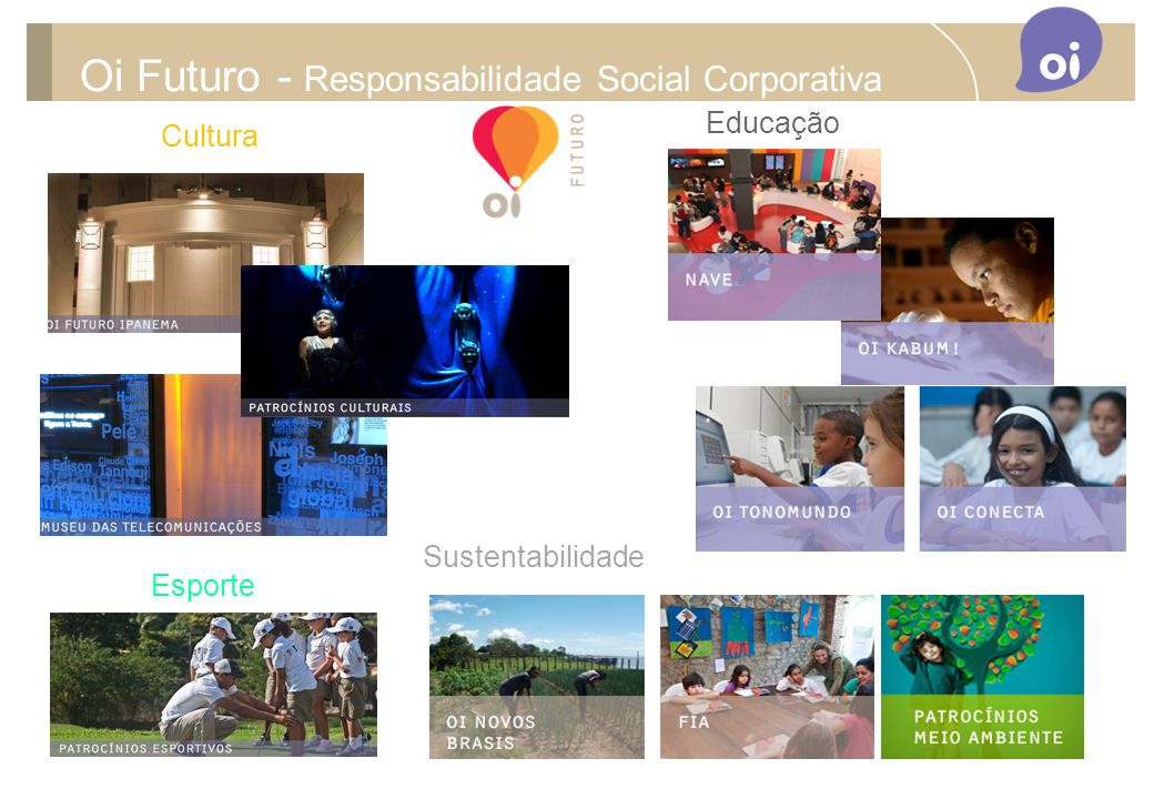 Oi Futuro - Responsabilidade Social Corporativa