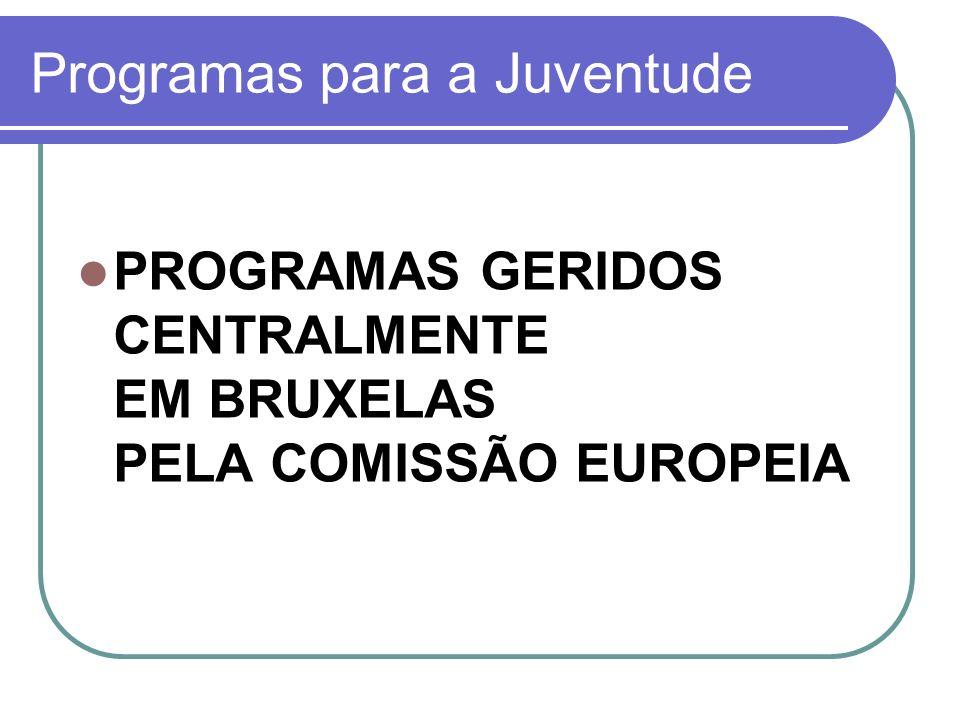 Programas para a Juventude