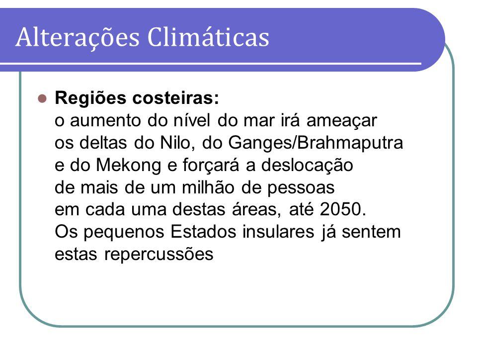 Alterações Climáticas