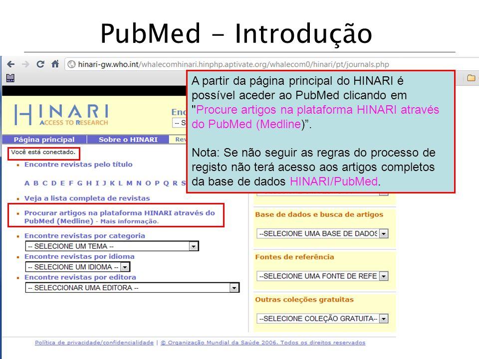 PubMed - Introdução