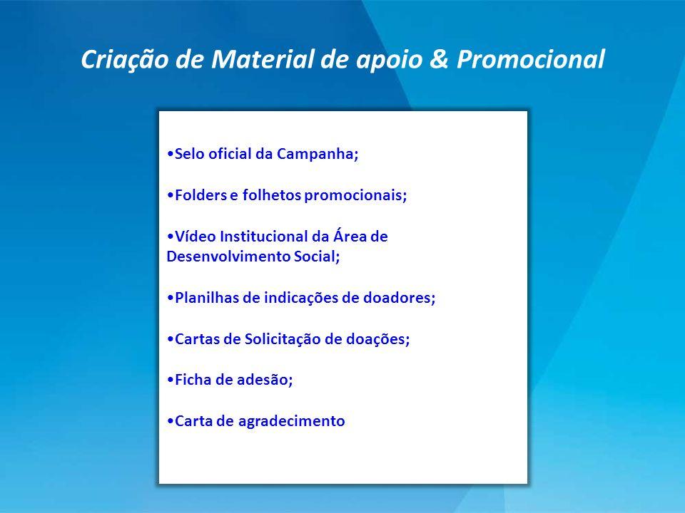 Criação de Material de apoio & Promocional