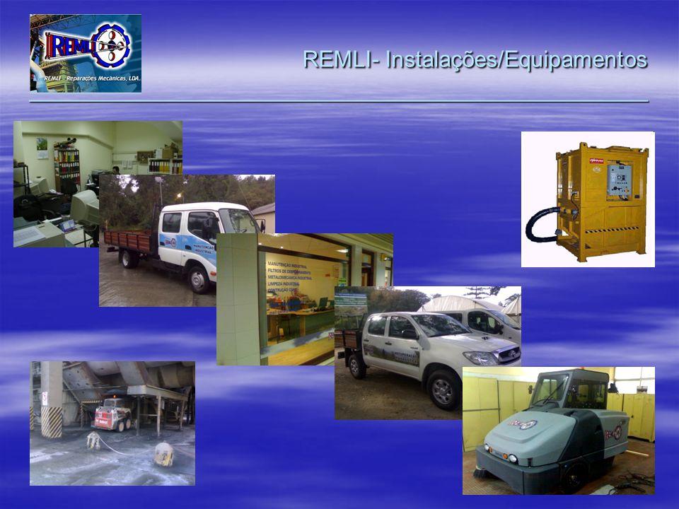 REMLI- Instalações/Equipamentos _________________________________________________