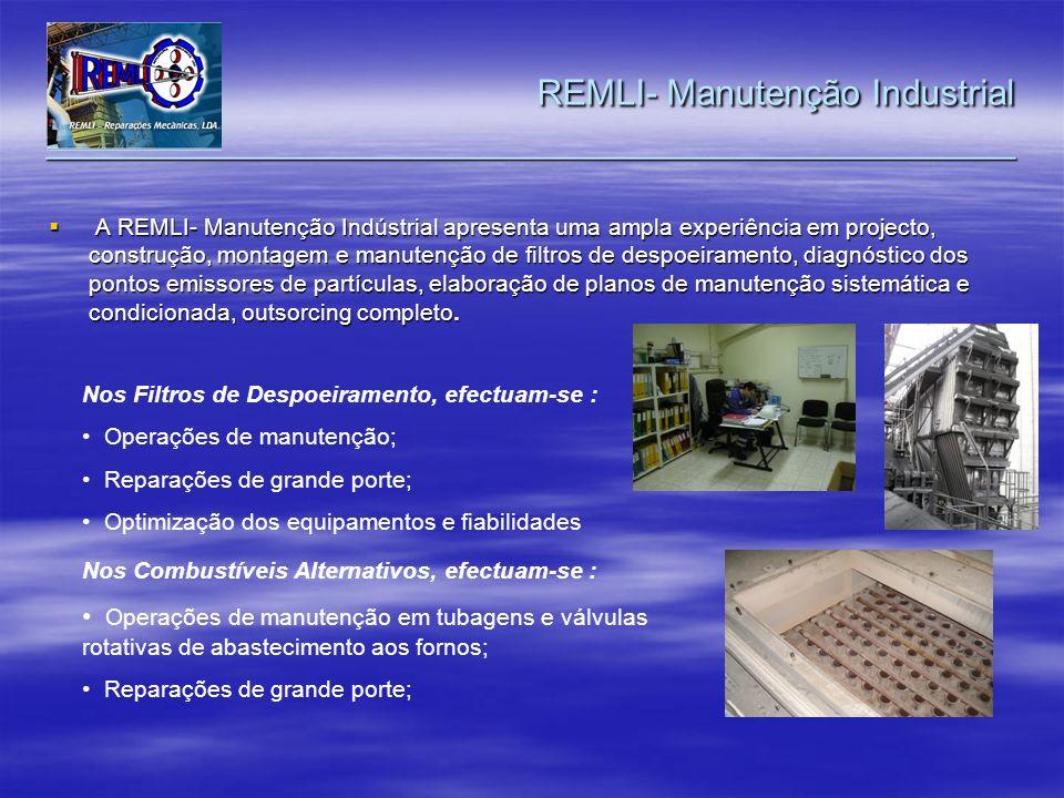 REMLI- Manutenção Industrial _________________________________________________