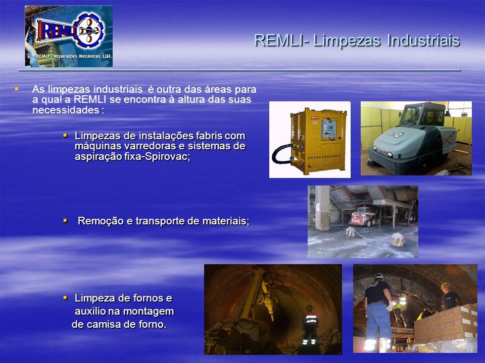 REMLI- Limpezas Industriais _________________________________________________