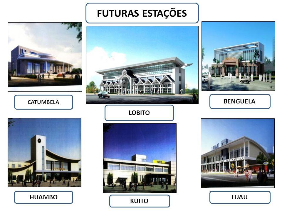 FUTURAS ESTAÇÕES CATUMBELA BENGUELA LOBITO HUAMBO LUAU KUITO