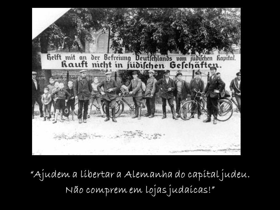 Ajudem a libertar a Alemanha do capital judeu.