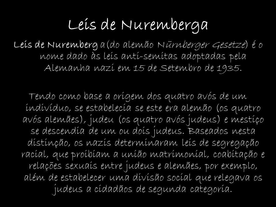 Leis de Nuremberga