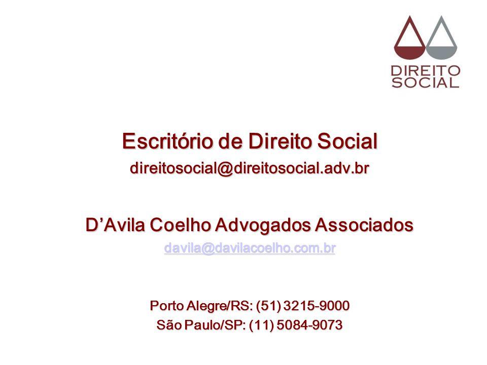 Escritório de Direito Social D'Avila Coelho Advogados Associados