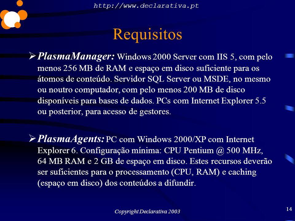 Copyright Declarativa 2003