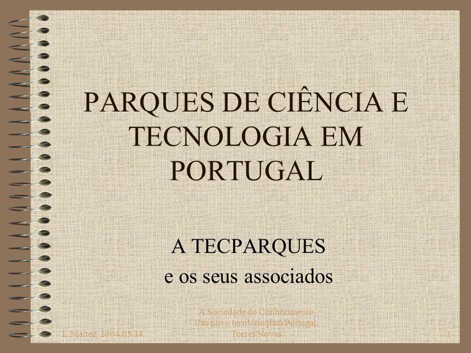 PARQUES DE CIÊNCIA E TECNOLOGIA EM PORTUGAL