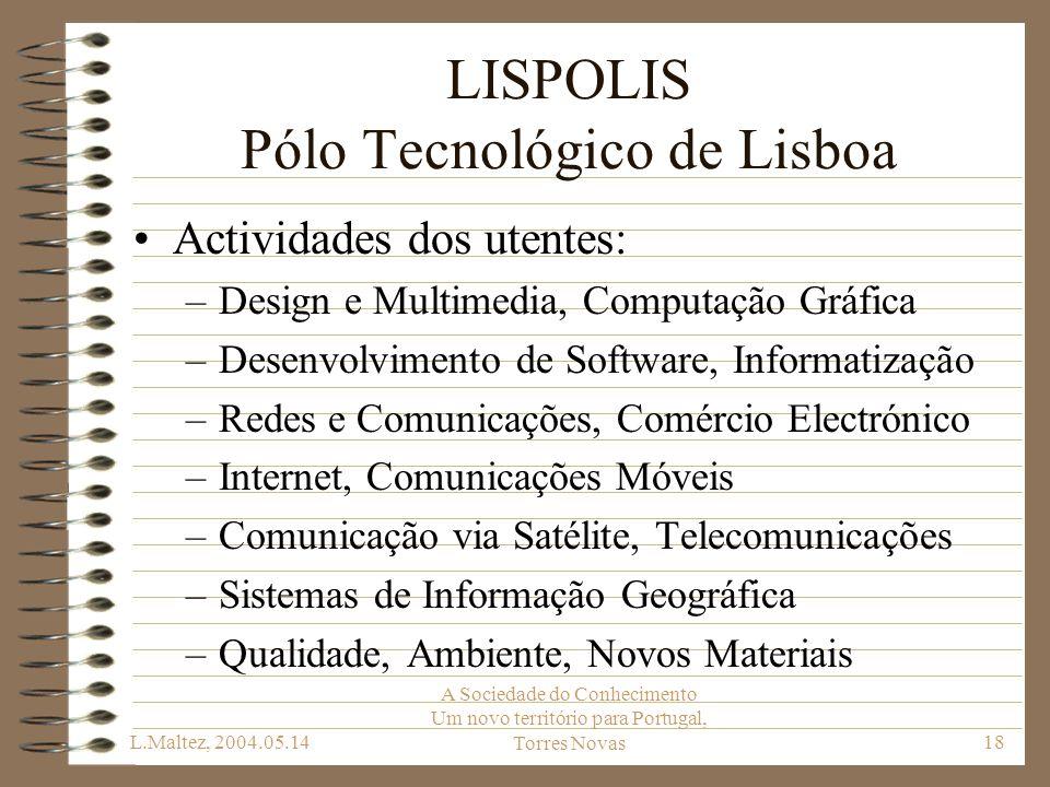 LISPOLIS Pólo Tecnológico de Lisboa