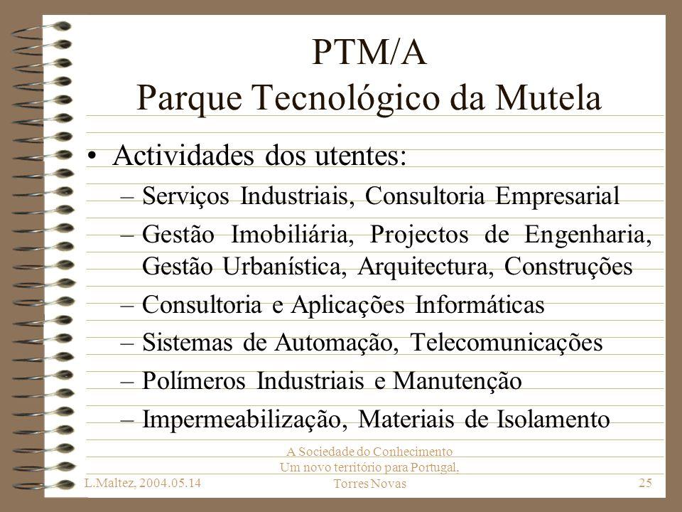 PTM/A Parque Tecnológico da Mutela