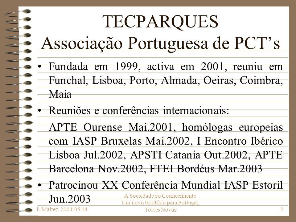 TECPARQUES Associação Portuguesa de PCT's