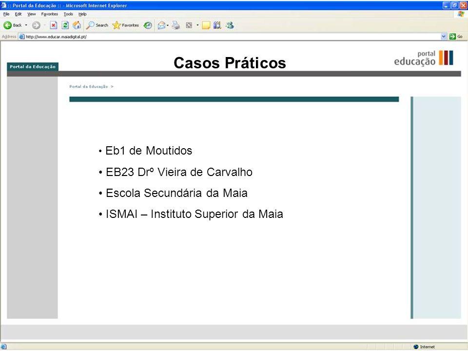 Casos Práticos EB23 Drº Vieira de Carvalho Escola Secundária da Maia