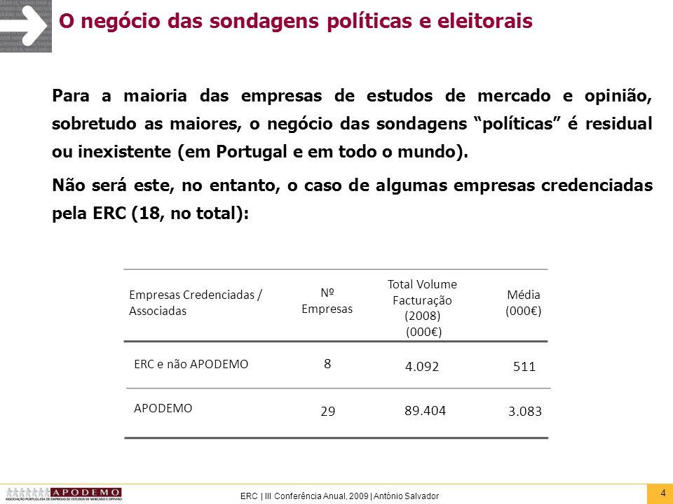 O negócio das sondagens políticas e eleitorais