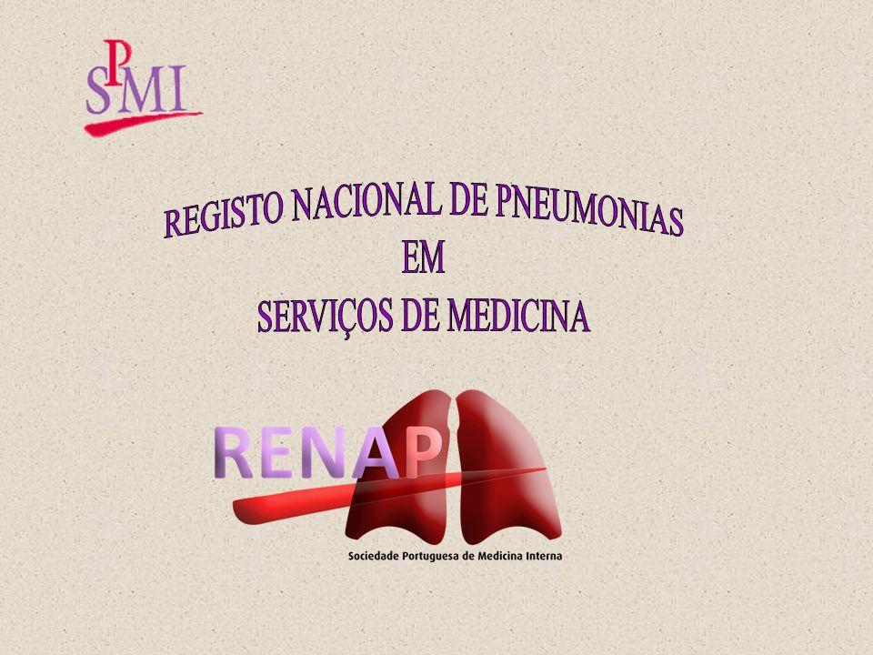 REGISTO NACIONAL DE PNEUMONIAS
