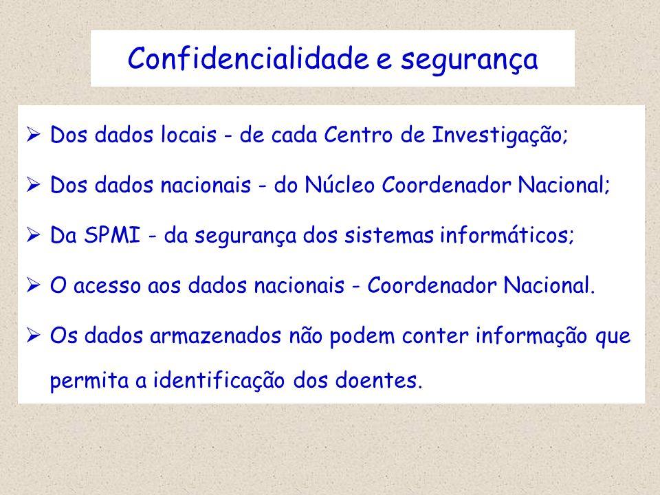 Confidencialidade e segurança