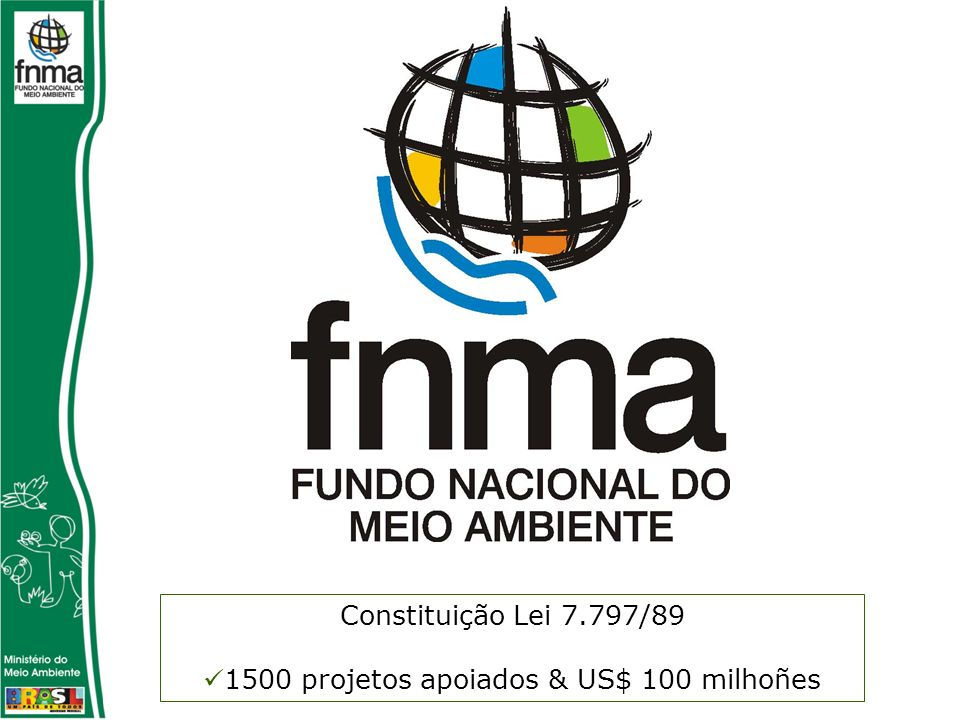 1500 projetos apoiados & US$ 100 milhoñes