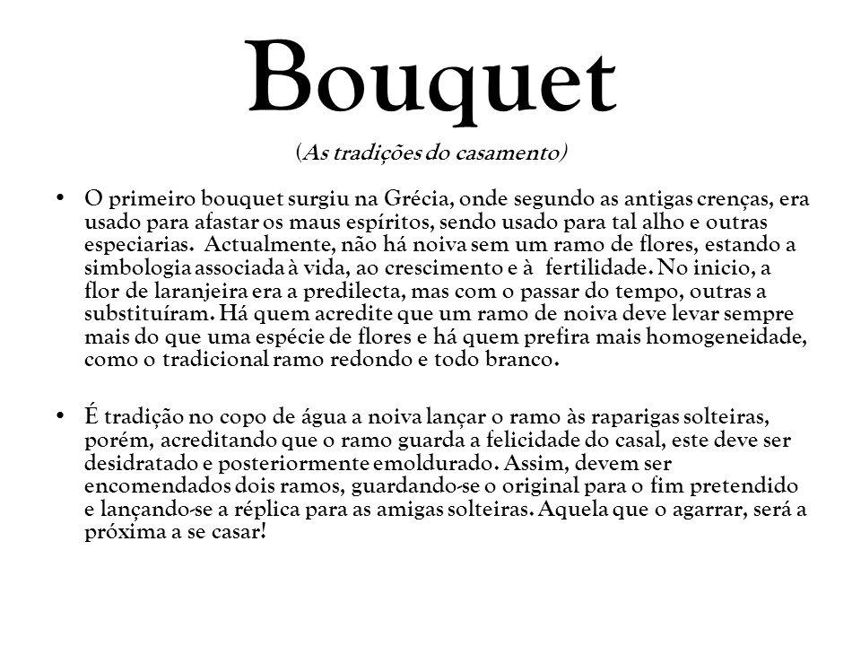 Bouquet (As tradições do casamento)