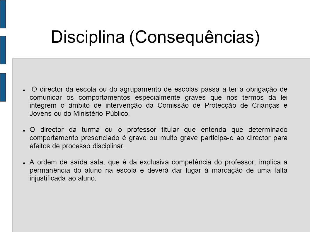 Disciplina (Consequências)
