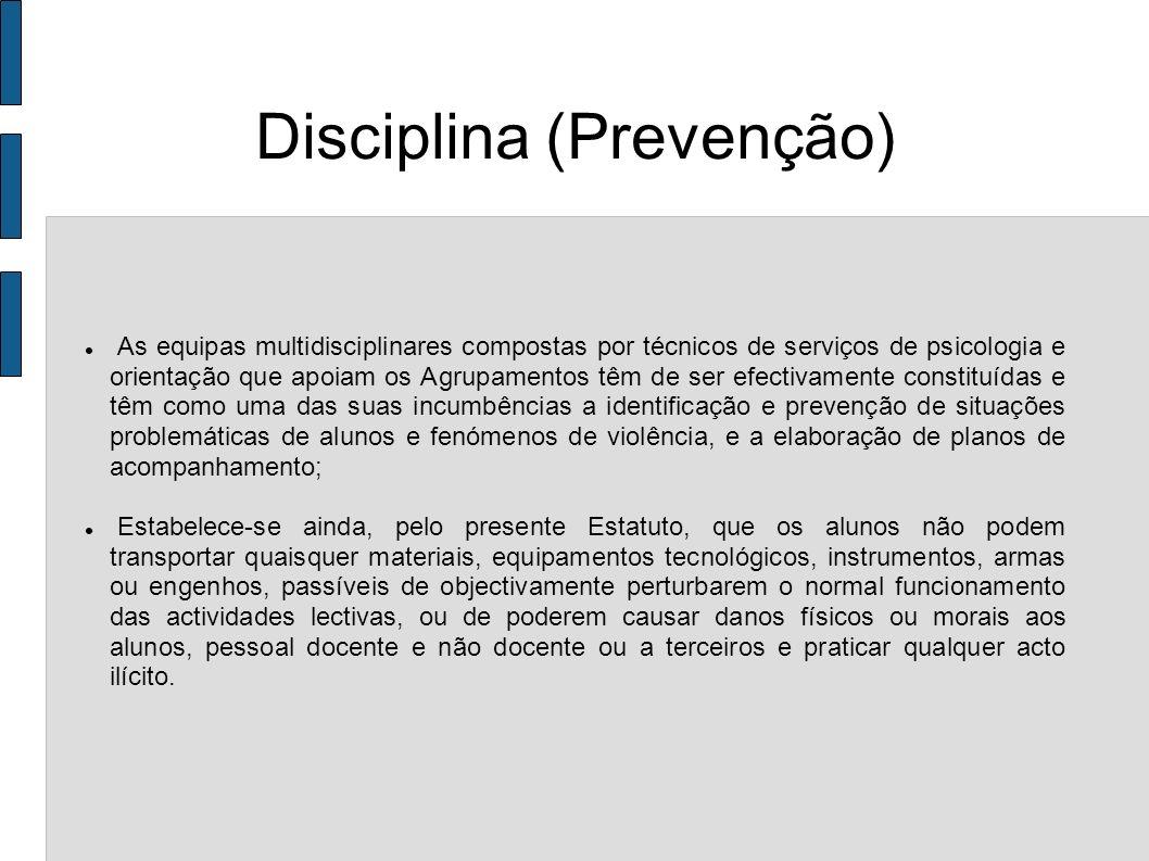 Disciplina (Prevenção)