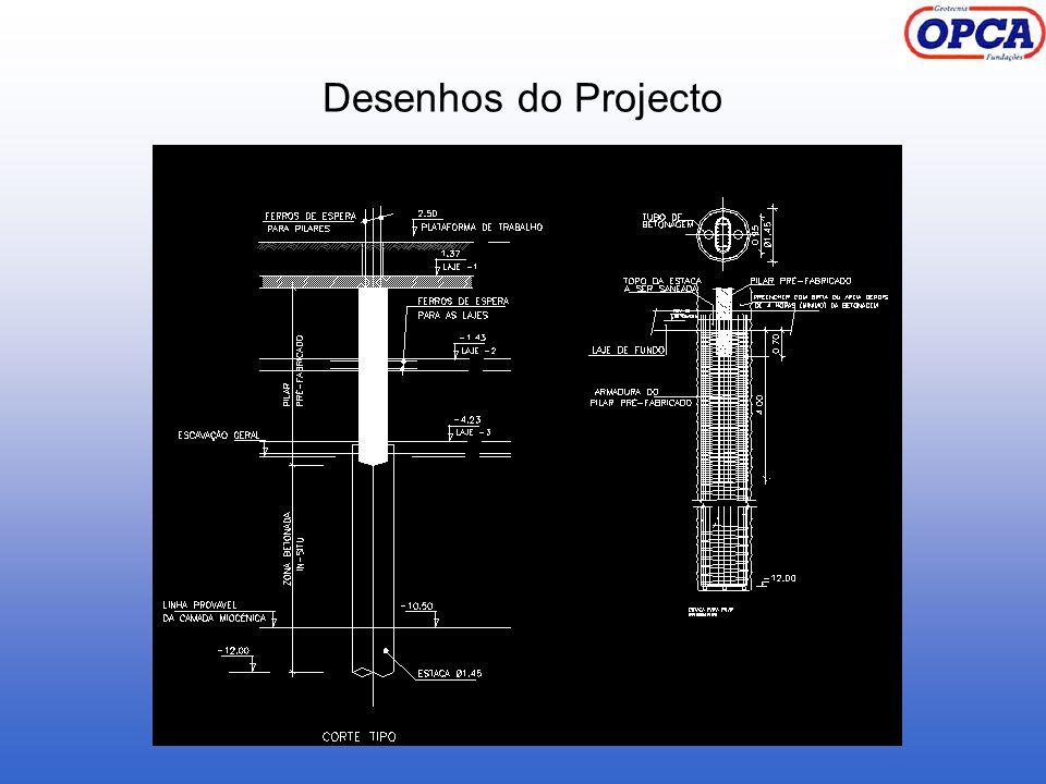 Desenhos do Projecto