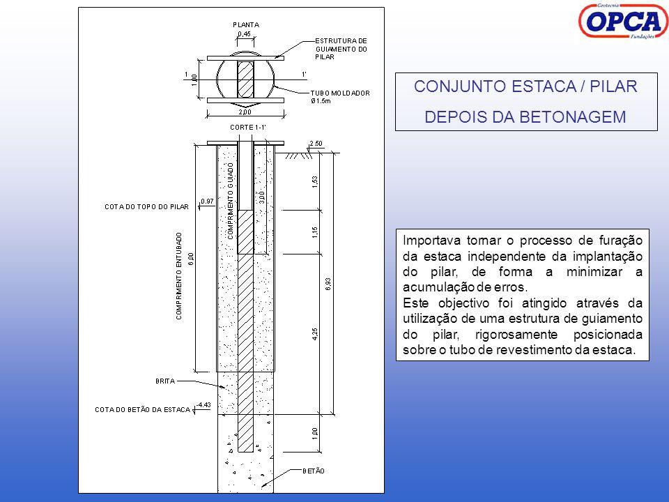 CONJUNTO ESTACA / PILAR