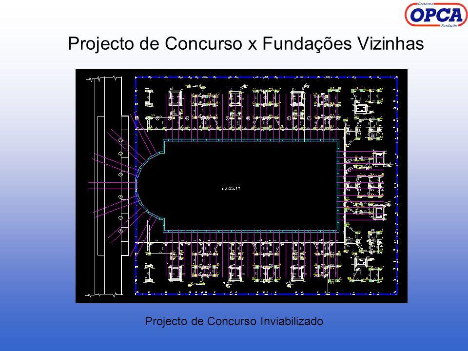 Projecto de Concurso x Fundações Vizinhas