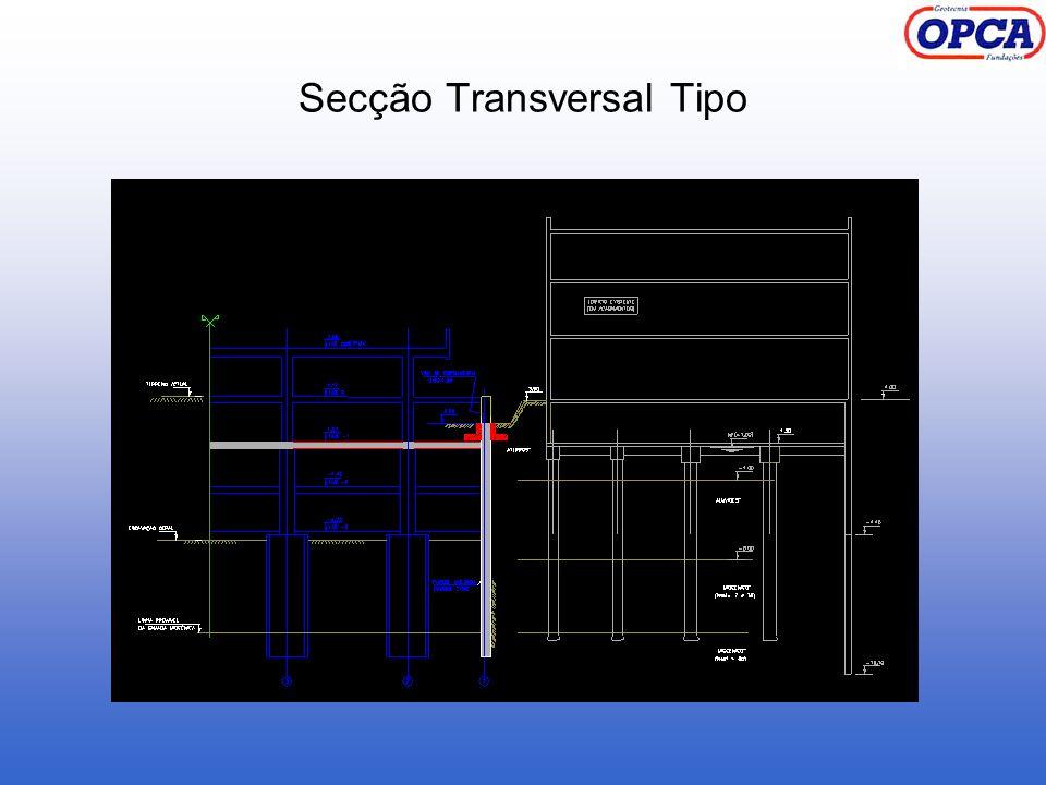 Secção Transversal Tipo