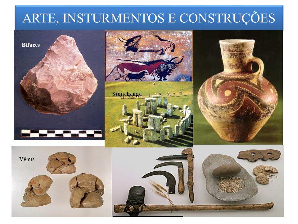 ARTE, INSTURMENTOS E CONSTRUÇÕES