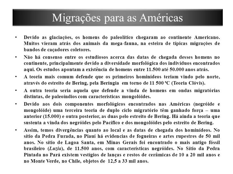 Migrações para as Américas