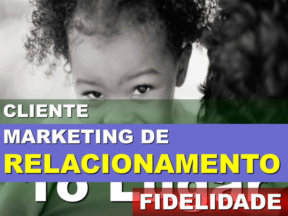 CLIENTE 1o Lugar MARKETING DE RELACIONAMENTO FIDELIDADE