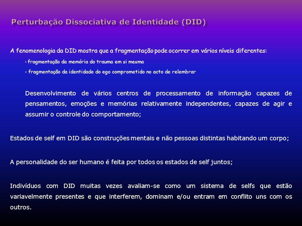 Perturbação Dissociativa de Identidade (DID)