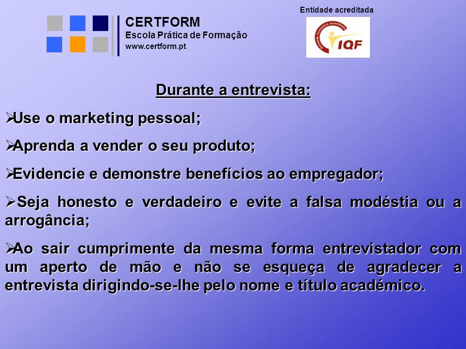 Use o marketing pessoal; Aprenda a vender o seu produto;