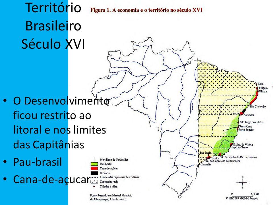 Território Brasileiro Século XVI