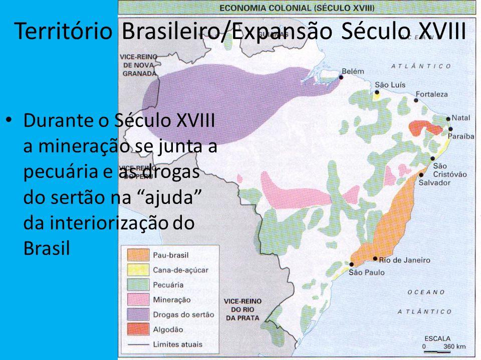 Território Brasileiro/Expansão Século XVIII
