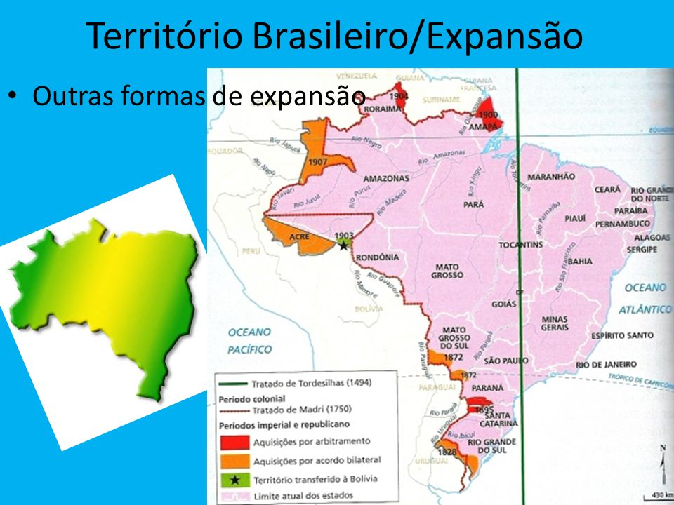 Território Brasileiro/Expansão