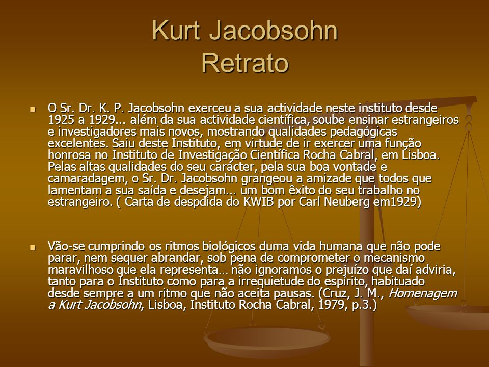 Kurt Jacobsohn Retrato