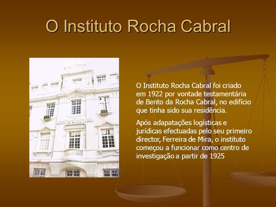 O Instituto Rocha Cabral