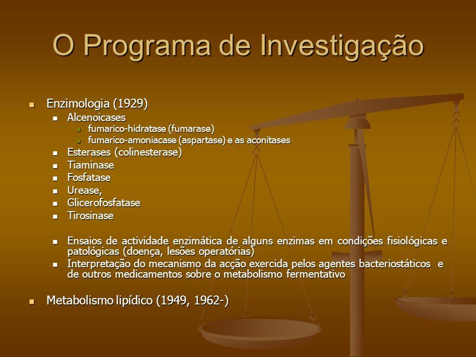 O Programa de Investigação