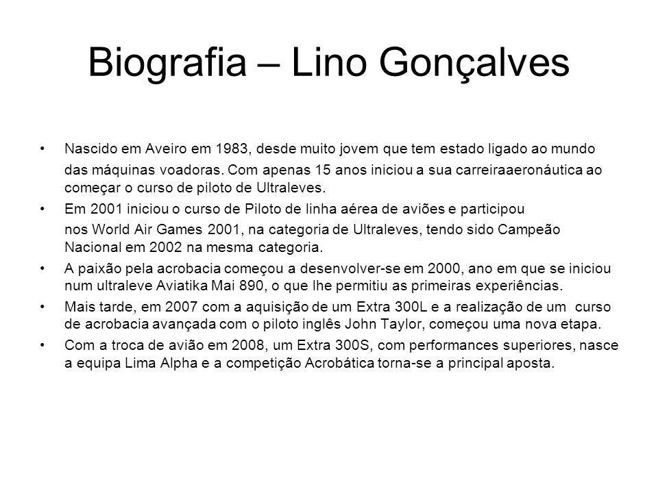 Biografia – Lino Gonçalves