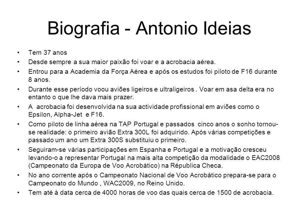 Biografia - Antonio Ideias