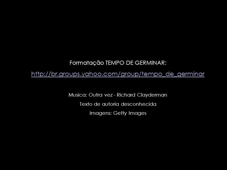Formatação TEMPO DE GERMINAR: