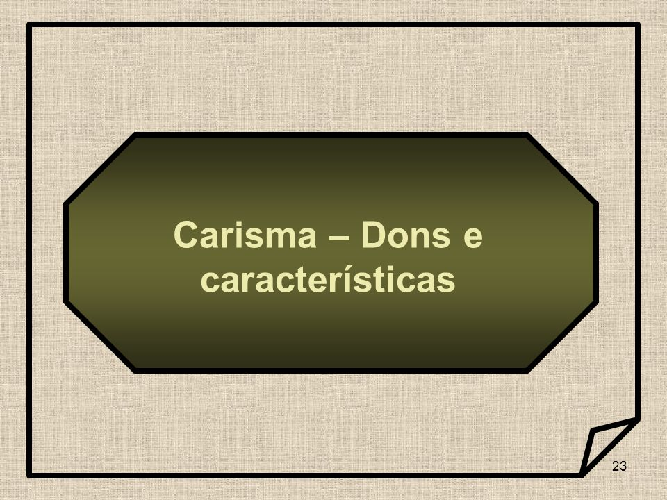 Carisma – Dons e características