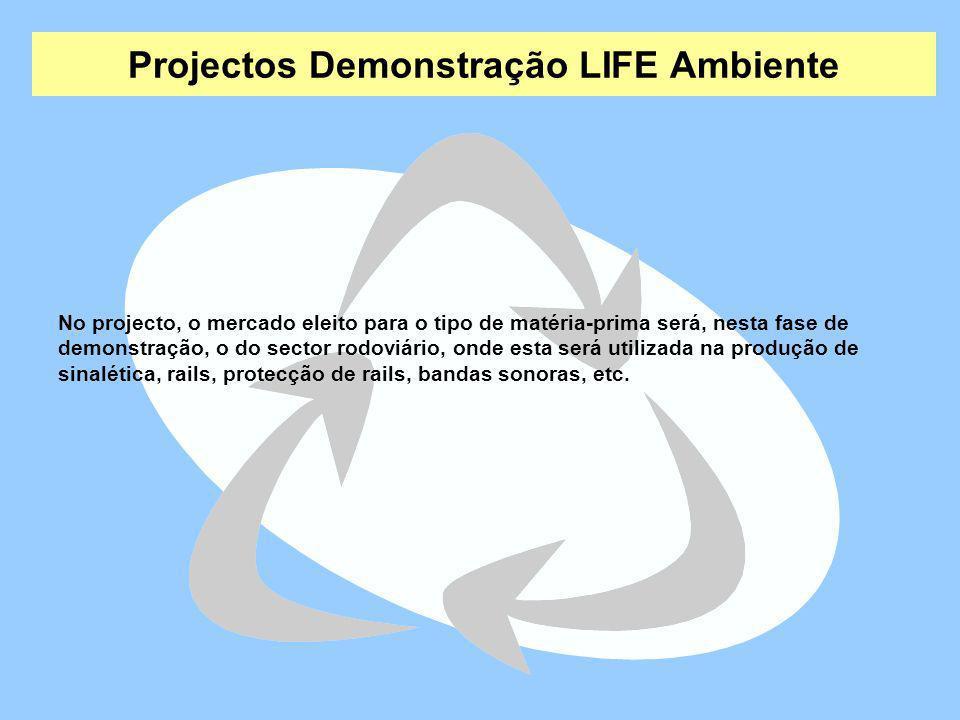 Projectos Demonstração LIFE Ambiente