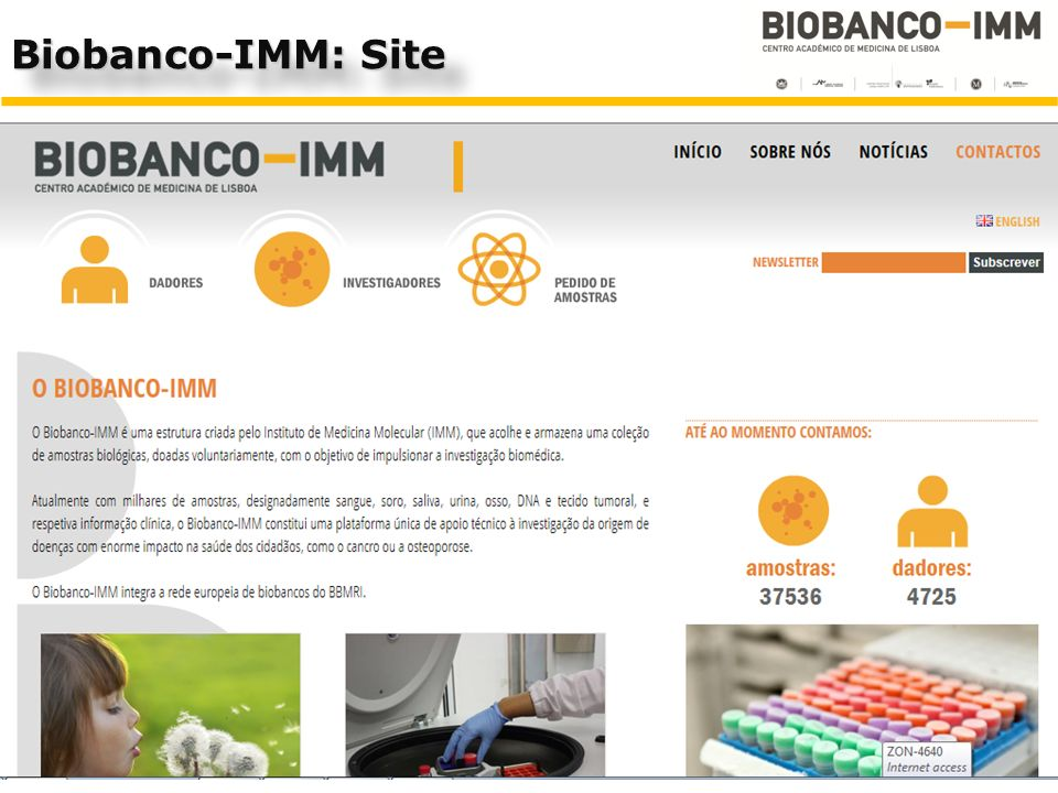 Biobanco-IMM: Site 14