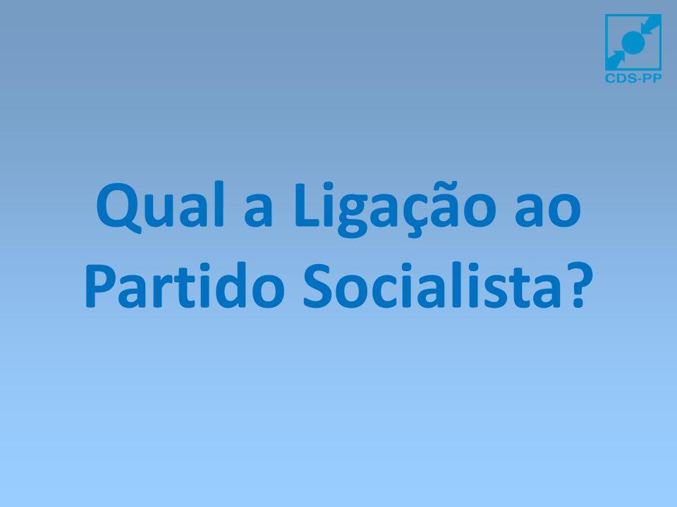 Qual a Ligação ao Partido Socialista