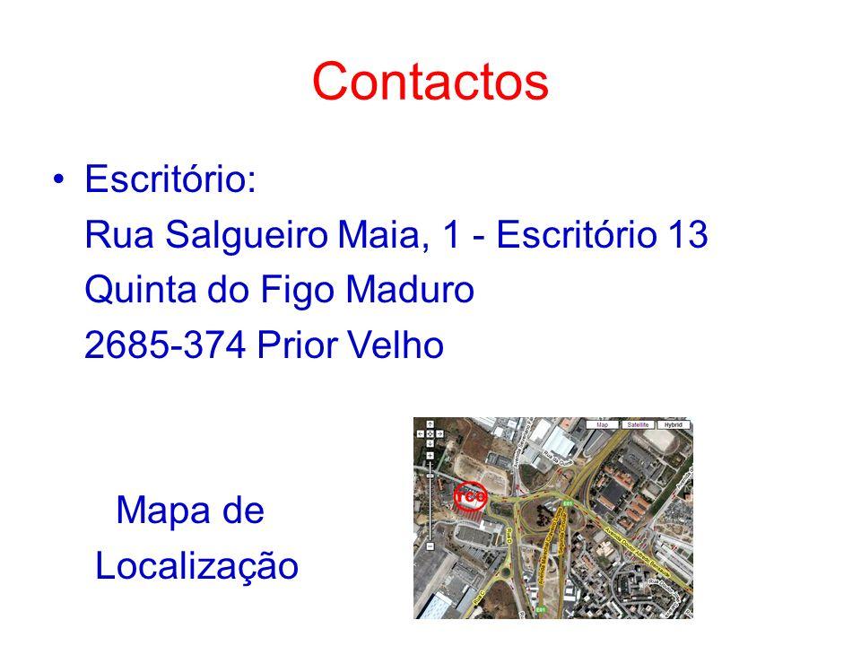 Contactos Escritório: Rua Salgueiro Maia, 1 - Escritório 13