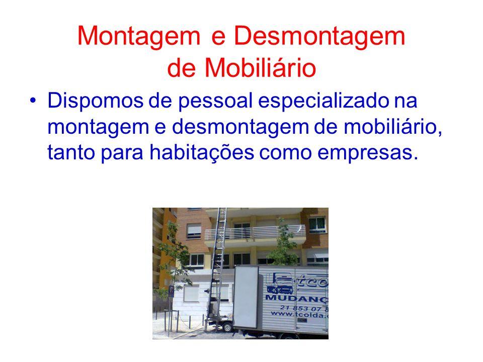 Montagem e Desmontagem de Mobiliário